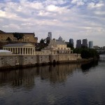 Museum - back of - across water looking at Museum Philadelphia-20110702-00299