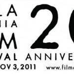 Philadelphia Film Festival logo Coutesy of filmadelphia.org