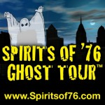 Spirits of '76 Ghost Tour Logo