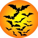 halloween in Philadelphia bat moon clipart1