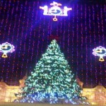 Macys Light Show in Philadelphia