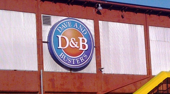 Dave and Busters in Philadelphia