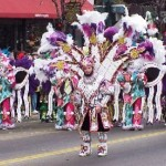 Mummers Parade in Philadephia - Two Street String Band 2000 - photo by John Fischer