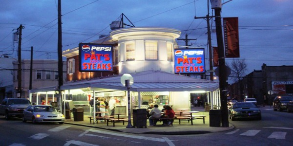 Pat's King of Steaks by Bobak Ha'Eri