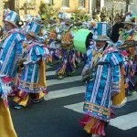 The Hegeman String Band on Mummers Parade Day 1-1-12 - Mummers in Philadelphia