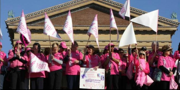 in philadelphia Walk for cancer breast