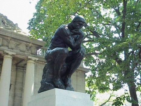 The Thinker At The Rodin Museum