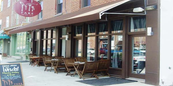 Fare Restaurant In Fairmount Philadelphia