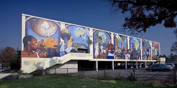 Murals in philly art in philadelphia for Education mural