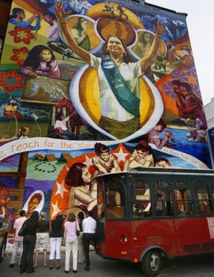 Murals in philly art in philadelphia for Dr j mural philadelphia