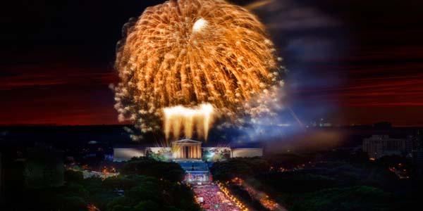 4th of July in Philadelphia