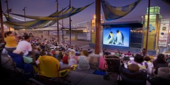 Screening Under The Stars At Penns Landing