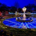 Holiday Light Show at Franklin Square