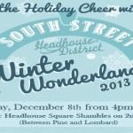 South Street Headhouse District Winter Wonderland