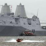 USS Somerset in Philadelphia