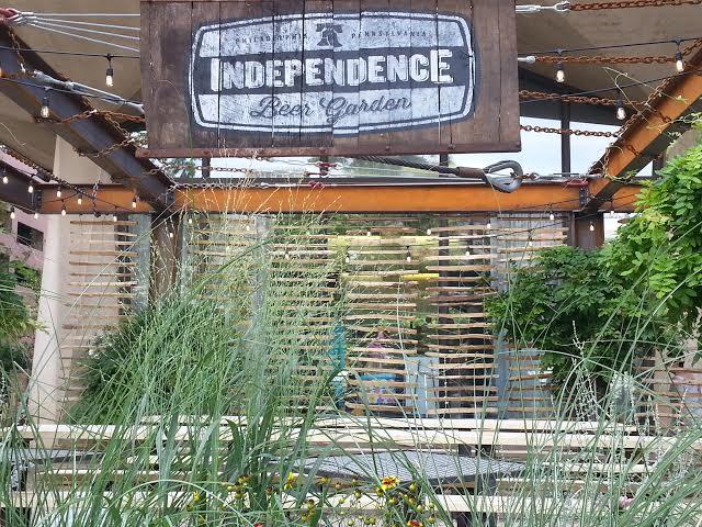Philly Beer Garden, Outdoor Drinking