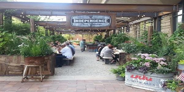 Philly Beer Garden Outdoor Drinking