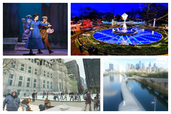 Things to do in Philadelphia ~ Holiday Light Show, Ice Skating, Holiday Shows and More!