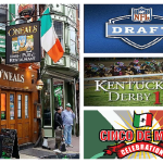 O'Neals Pub in Philadelphia Celebrating the NFL Draft, Kentucky Derby and Cinco de Mayo