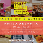 Taste of Three Cities in Philadelphia