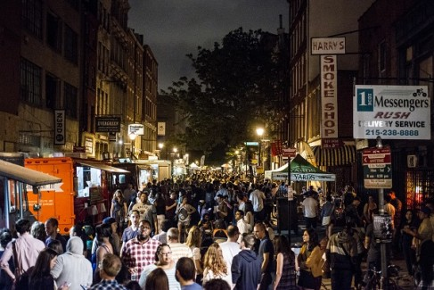 Night Market 2014 in Olde City