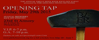 Opening Tap 2015 at Philly Beer Week