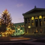 Tree Lighting at Philadelphia Museum of Art