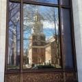 Historic Philadelphia - Reflection of Independence Hall