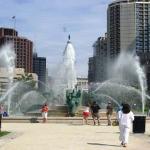 Swann Fountain at Logan Square