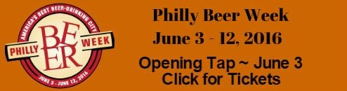 Philly Beer Week Opening Tap 2016