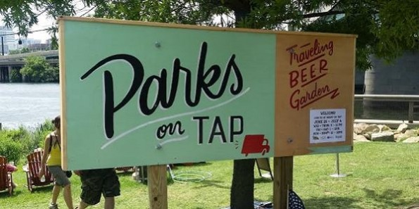 Parks On Tap Traveling Beer Garden in Philadelphia