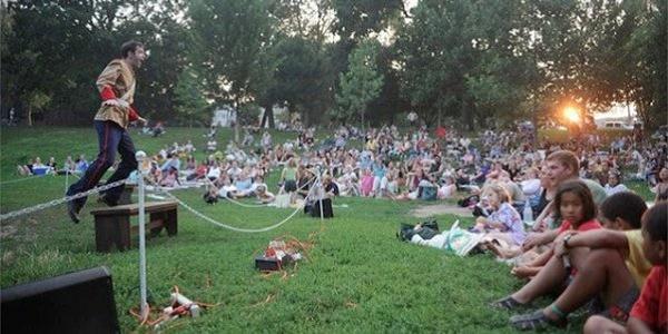 Shakespeare in Clark Park