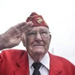 Mahlon Fink survivor of Battle of Iwo Jima