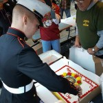 Marines Birthday Celebration At Cookie's Tavern