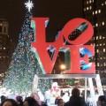 Holiday Tree Lighting At LOVE Park