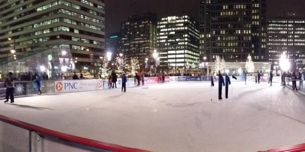 Ice Skating At Rothman Ice Rink