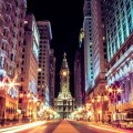 Broad Street In Center City Philadelphia