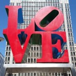 Love Sculpture at Dilworth Park