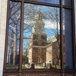 Reflextion of Independence Hall