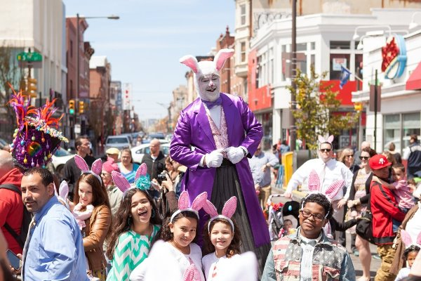 86th Annual Easter Promenade in South District Headhouse