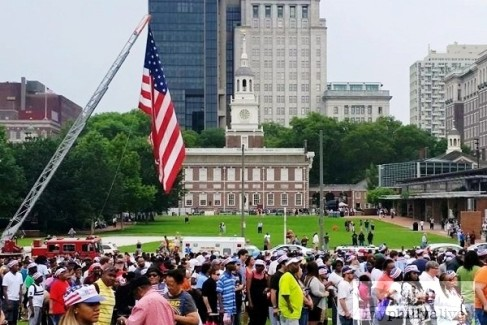 4th of July and Wawa Welcome America Festival in Philadelphia