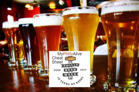 MyPhillyAlive 2017 Philly Beer Week Cheat Sheet