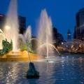 Swann Fountain at Logan Circle
