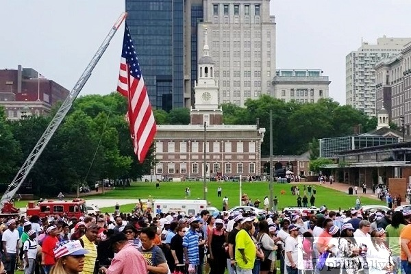 Happy Independence Weekend in Philadelphia