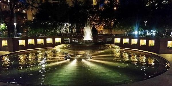 Three Logan Square Fountain