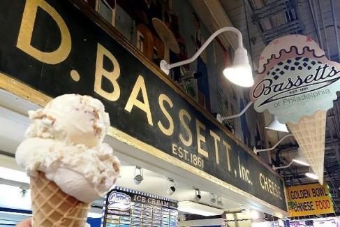 Bassett's Ice Cream at Reading Terminal Market