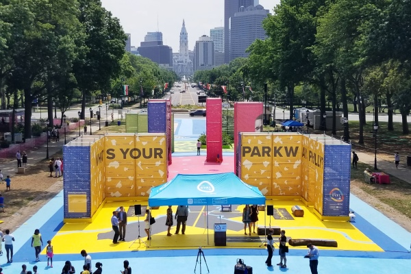 "The Oval Asks: ""What's Your Parkway, Philly?"" ~ 2017 Summer Fun At Eakins Oval"