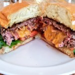 Stuffed Bacon Cheddar Burger At Chef Tony's Kitchen