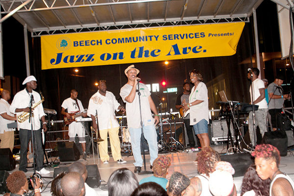 Jazz On The Ave Music Fest In North Philadelphia