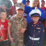 Kids Dress Up Supporting The Marines